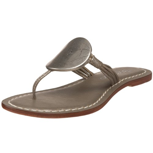 Bernardo Women's Must Flat Sandal,Pewter,5 M US