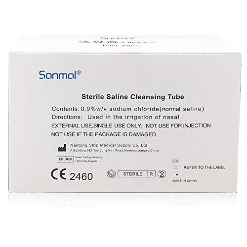 Sonmol Inhalationslösung 15ML Einheit Physiological Serum Saline Ampullen CE Zertifikat salzlösung für inhalation 30 Ampullen 450ML