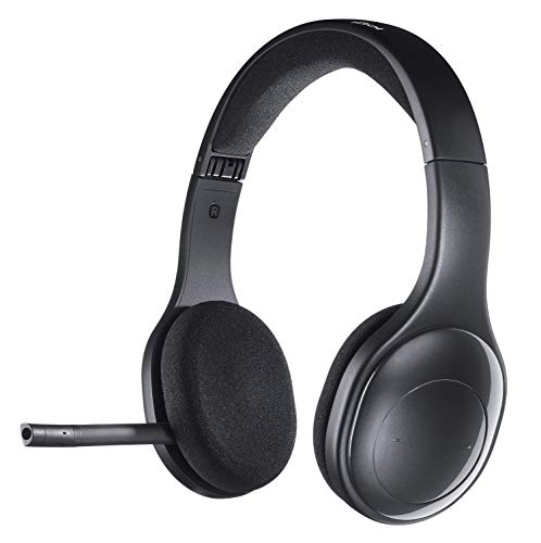 Logitech H800 Wireless Headset für PC und Mac schwarz Schwarz (Generalüberholt)