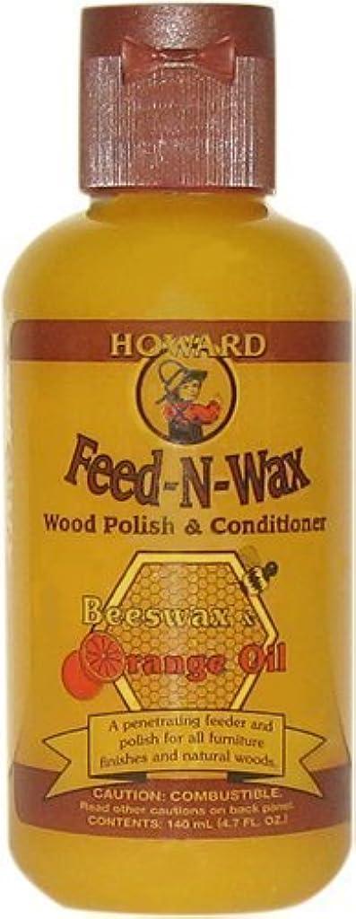 シードビリーヤギショットHoward Feed-N-Wax 木部用 天然素材ワックス (ビーズワックス、カルナバワックス、オレンジオイル)