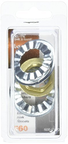 LDR 500 4160 1/2-Inch Fip Plastic Faucet Locknuts with Rosettes by LDR Industries