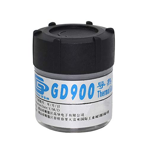 Whiie891203 Wärmeleitpaste, Wärmeleitpaste, GD900 30 G Kühlkörper-Kühlmasse Wärmeleitpaste Für CPU-GPU GD900