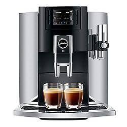 professional Jura E815271 automatic coffee machine, chrome
