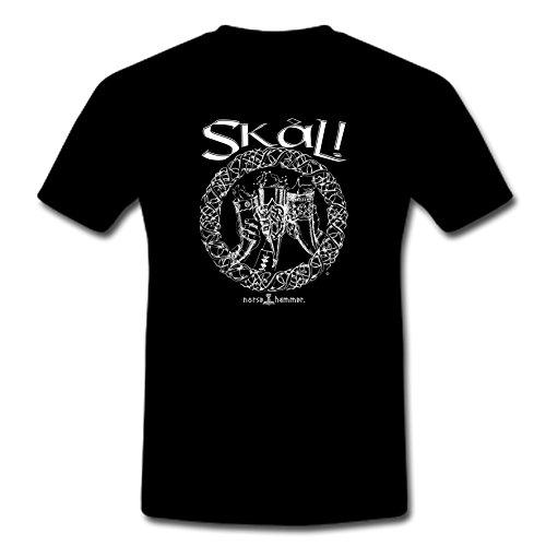 Norse Hammer - Camiseta - para Hombre Negro XL