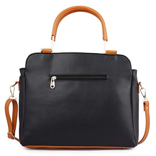 Speed X Fashion Women Hand Held Bag Black