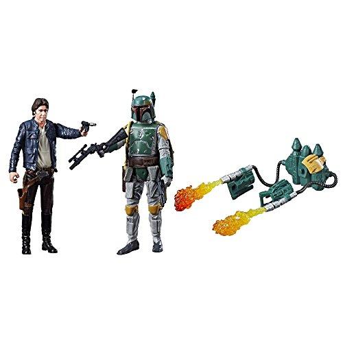 Star Wars Force Link Actionfiguren 10 cm Doppelpacks 2017 Wave 1 - Han Solo & Boba Fett