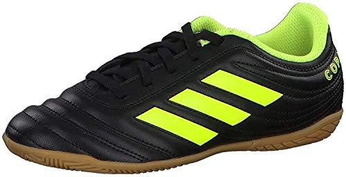 adidas Unisex-Kinder Copa 19.4 In J Fußballschuhe, Mehrfarbig (Negbás/Amasol/Negbás 000), 36 2/3 EU