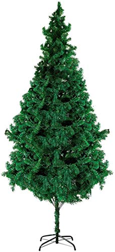 Christmas Tree Artificial Christmas Tree Christbaum Foldable Christmas Pine with Metal Stand Zipper Decorations Christmas utenciles (Size : 90cm/3ft)