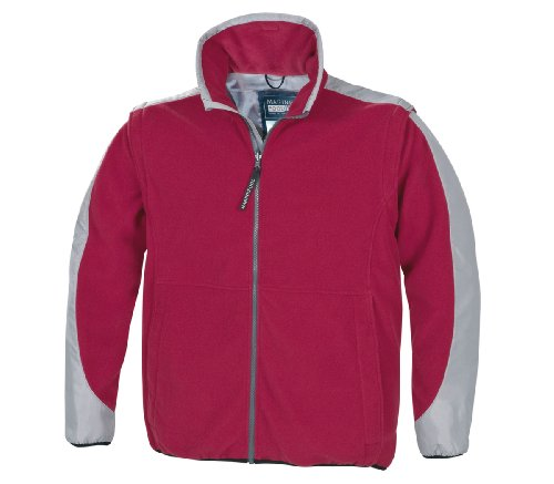Marinepool Herren Jacke Stockholm Fleece, Red, XXXL (62), 5000449-300-220