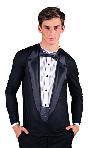 Boland 84210 - Fotorealistisch shirt Gala, kostuums voor volwassenen