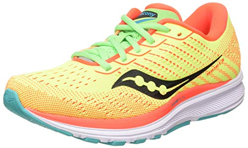 Saucony Women's Jogging Trail Running Shoe, Citrn Mutant, 5 UK