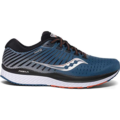 Saucony Men's S20548-25 Guide 13 Running Shoe, Blue/Silver -...