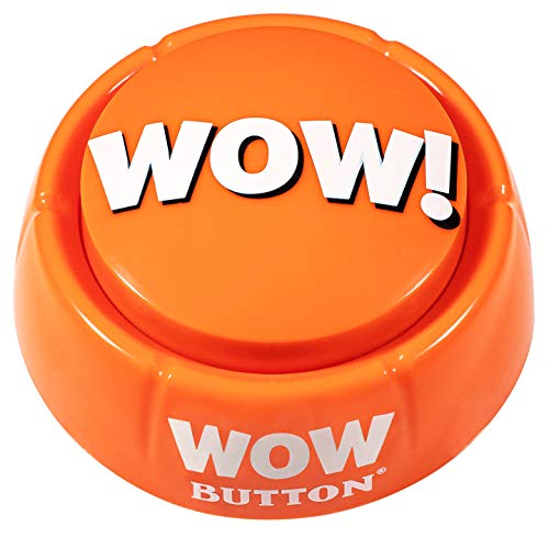 WOW Button - Pressing This Button is a Blast! Brighten up Your Desk Space!
