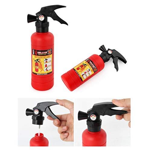 Kekailu Firefighting Toys Set,Kids Pull-Type Fire Extinguisher Water Gun Cap Firefighting Suit Beach Play Toys,3#