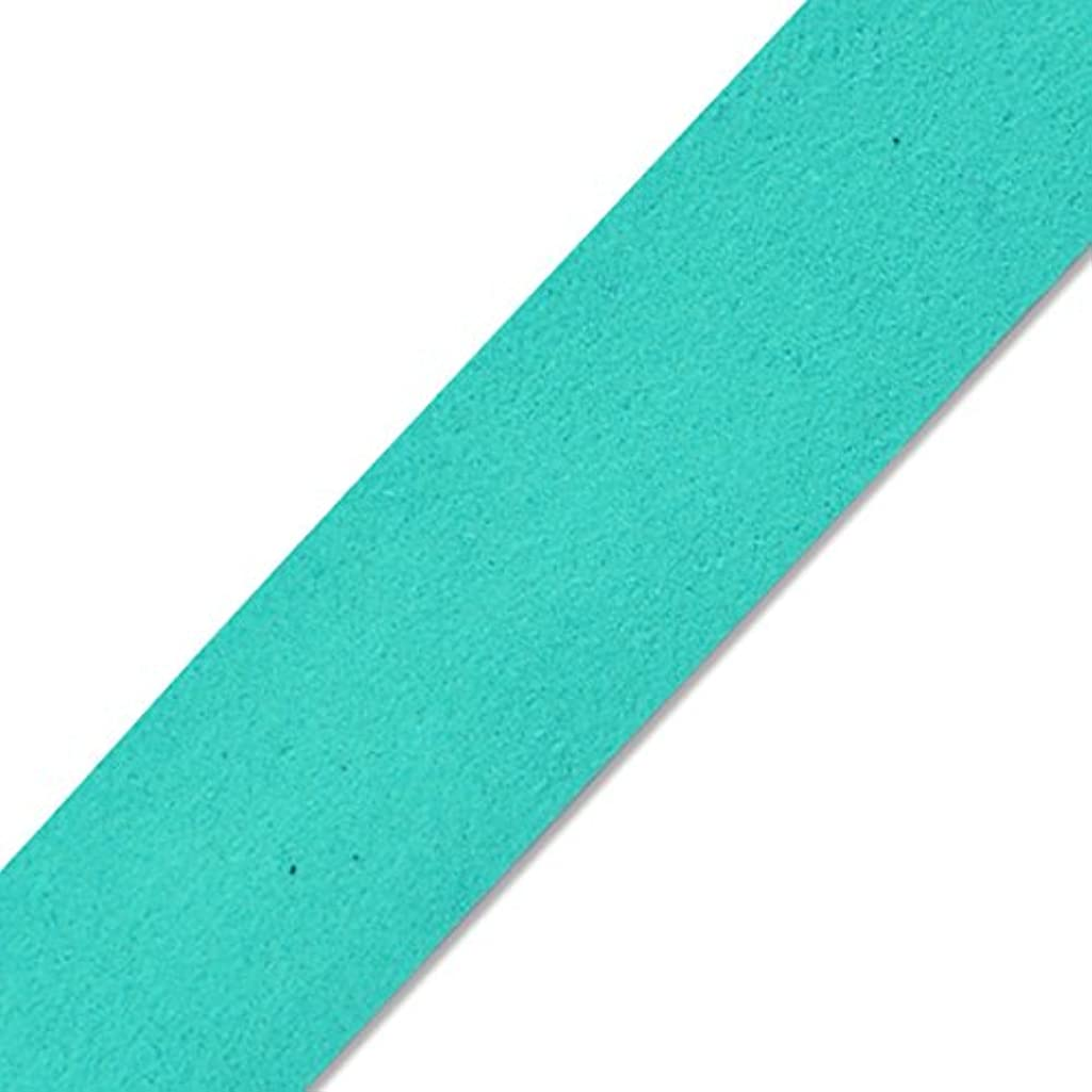 Expo International IR8034TR-10 10 Yards of Faux Suede Strip Trim Turquoise