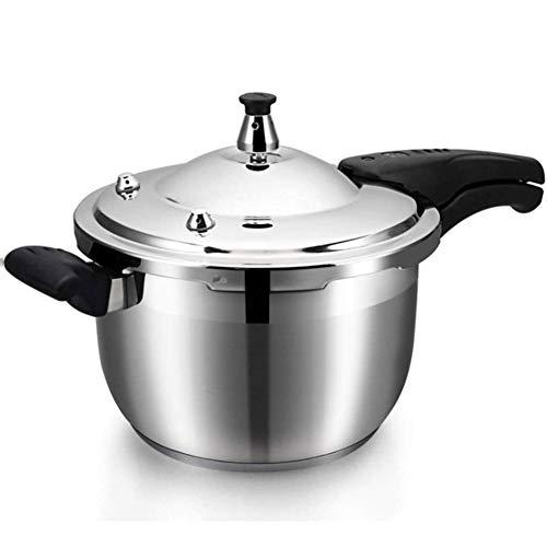 YFGQBCP Robot Cocina Olla a presión de Acero Inoxidable 304, Tanque de presión hogar, Cocina de inducción rápido Universal de Gas de Cocina pot-24 CM