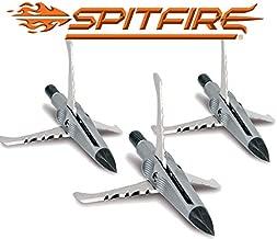NAP Spitfire Edge Mechancial Broadhead 100 Grain Three Blade Trophy Tip 3 Pack