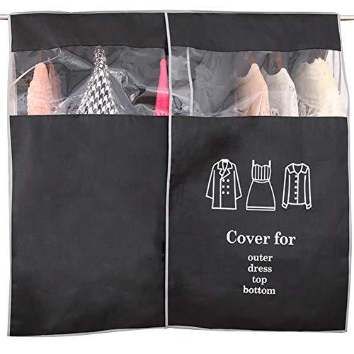 LvLoFit - Funda transparente para perchero de ropa, resisten