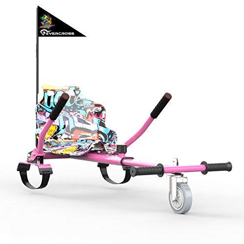 EVERCROSS Hoverkart per Hoverboard, Go Kart Lunghezza...