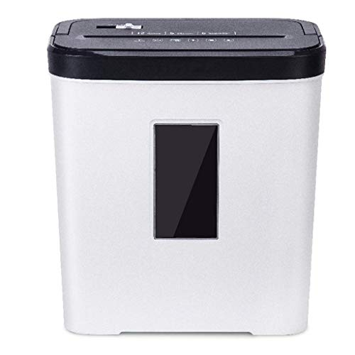 Best Price Bdesign Paper Shredder, P-5 High-Security for Home & Small Office Use, Portable Handle De...