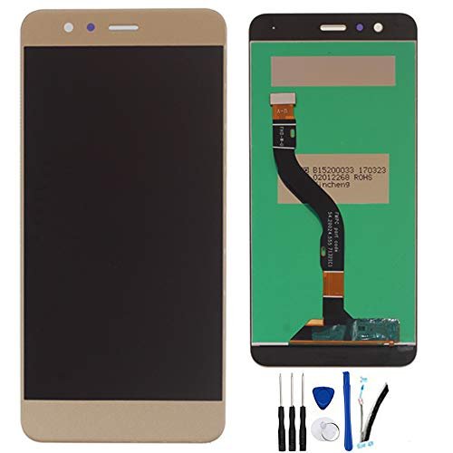 "SOMEFUN Display di Ricambio per Huawei P10 Lite LCD Schermo Touch Screen Digitizer Assemblea per Huawei P10 Lite Was-LX1 WAS-LX1A 5.2"" (d'oro)"