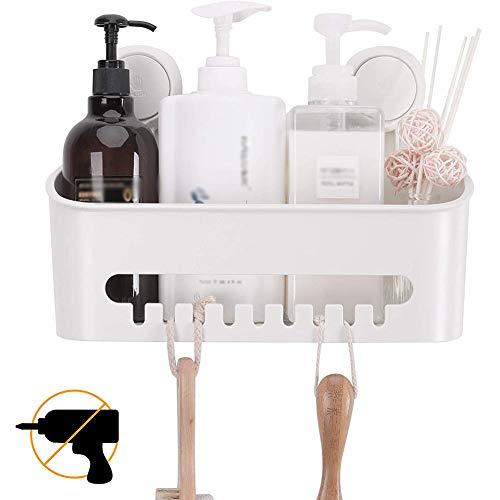 SHUNLU Estante para Ducha Inodoro Sin Perforar Estante para Baño Multifuncional Producto para El Cuidado De La Piel Estante De Almacenamiento