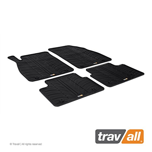 Travall Mats Gummifußmatten TRM1197 – Allwettermatten Nach Maß Fussmatten Set