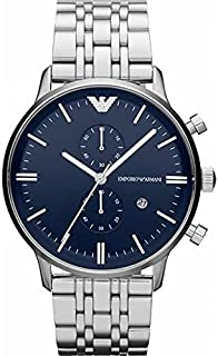 Emporio Armani Classic For Men - Analog Stainless Steel Band Watch - AR1648