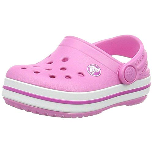 Crocs Unisex-Kinder Crocband K Clogs, Pink (Party Pink 6U9), 27/28 EU