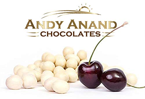 Andy Anand Chocolate Greek Yogurt Covered California Cherry Wholesale Bulk, For Birthday, Valentine Day, Gourmet Christmas Holiday Food Gifts, Thanksgiving, Mothers Fathers Day, Weddings (1lbs)