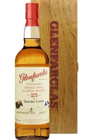 Glenfarclas 25 Jahre Quarter Casks Whisky 0,7 L