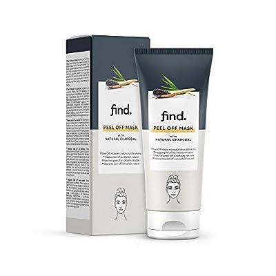 Amazon Brand - find. Peel Off Charcoal Mask - 100 ml from Amazon Eu Sarl