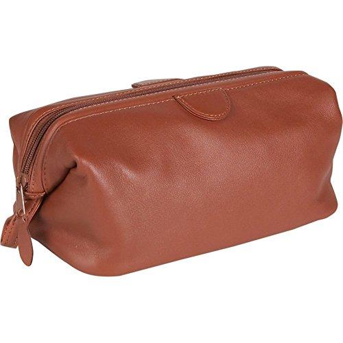 Royce Deluxe Toiletry Bag - Leather - Tan - Tan