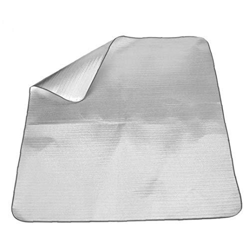 TongICheng Papel De Aluminio Mat Colchón De Dormir Que Acampa Al Aire Libre De La Comida Campestre Manta Impermeable a Prueba De Humedad del Colchón para Dormir Cojín De La Estera