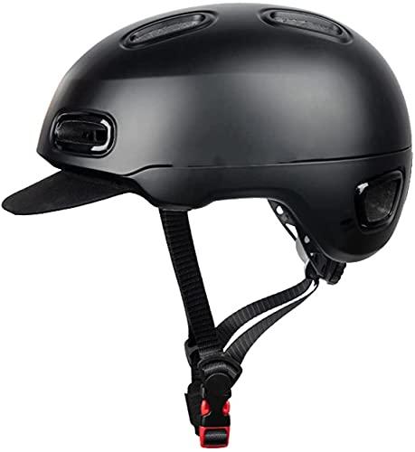 PGKCCNT Unisex Lightweight Bluetooth Motorcycle Helmet Hombre Casco de Montar con máscara Facial Casco Casco Retro Casco Retro Casco de Motocicleta Casco Scooter Hombres