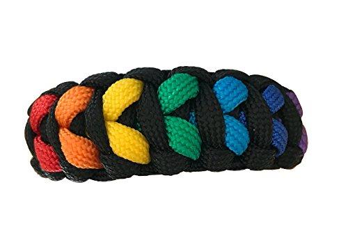 Gay Pride Bracelet - LGBT Paracord Bracelet, Gay Pride Jewelry, Rainbow Pride Bracelet & Perfect Gay Pride Gifts