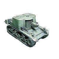 モデルおもちゃ1/35スケールアメリカンT18自走対戦車砲キッズおもちゃとギフト、4.3インチx2インチ
