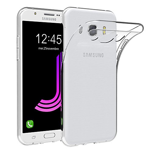 AICEK Samsung Galaxy J7 2016 Hülle Case, Galaxy J7 2016 Case Silikon Soft TPU Crystal Clear Premium Durchsichtig Handyhülle Schutzhülle Case Backcover Bumper Slimcase für Galaxy J7 2016