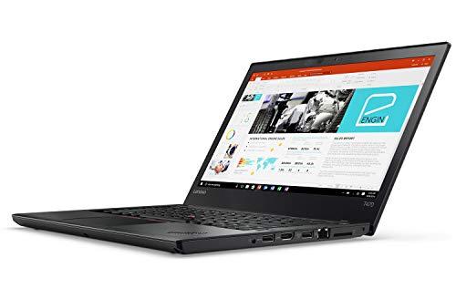 Lenovo ThinkPad T470 14 Inch 1920×1080 Full HD Intel Core i5 256GB SSD Hard Drive 8GB Memory Windows 10 Pro Keyboard Lighting Webcam Notebook Laptop (Certified and Refurbished)
