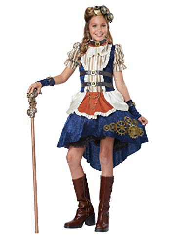 steampunk saloon girl costume