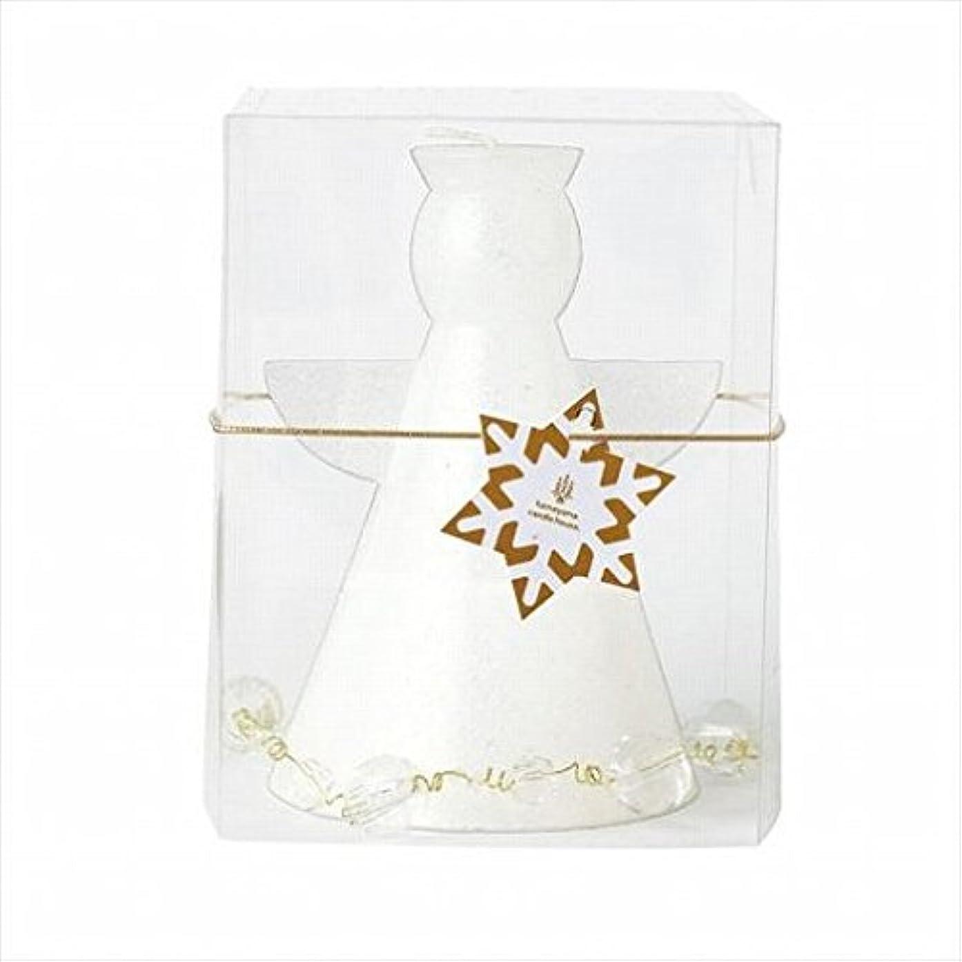 別々ににぎやか構造kameyama candle(カメヤマキャンドル) クリスタルアンジェリカ 「 ホワイト 」(A9580000W)