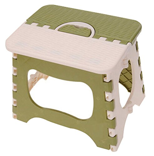 Tabouret Pliant Les Chaises Pliantes Portable Enfants Vert extérieure