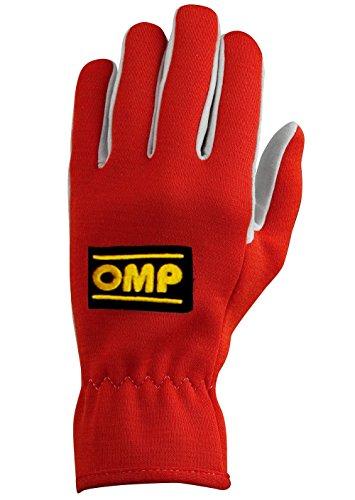 Omp OMPIB/702/R/XL Rally Handschuhe, Rot, Größe XL