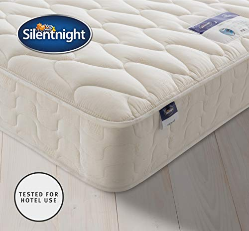 Silentnight Quality Comfort Mattress | Designed & Tested for Hotel Use | Lasting Durability & Comfort | Single