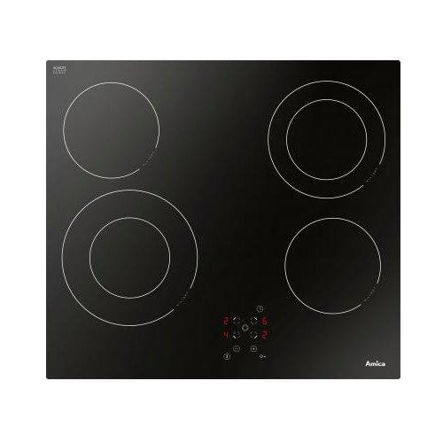 Amica 23474 kookplaat (elektro/inbouw) / 4 kookplaten / 51,8 cm/sensorbesturing