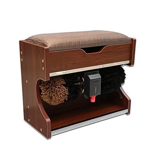 DHR limpiadora automático Banco de zapatos de cambio de lustrador de zapatos automático multifuncional: caja de almacenamiento, lustrado de zapatos / pulido / asiento / almacenamiento, for el hogar, h