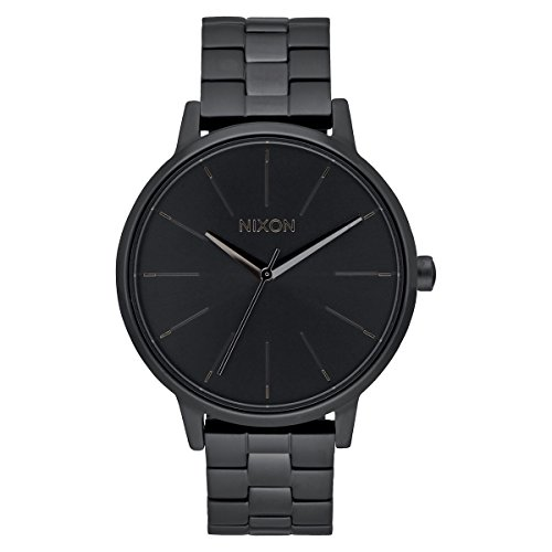 Nixon Unisex Analog Quarz Uhr mit Edelstahl Armband A099-001-00