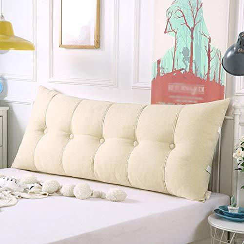 ZHZG Kopfbrett Kissen Dreieck Bett Kissen Soft Pack Sofa Große Rückenkissen Tatami Bett Rückenlehne abnehmbar und waschbar (Color : D, Size : 150cm(59 Inches))