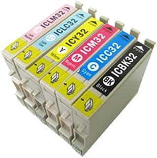 IC32 IC6CL32対応6色セットEPSONエプソンプリンター純正互換インク ICチップ付き