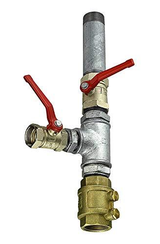"""Connex Doppelter Pumpenstock 1 1/4\"""" / Pumprnanschluss / Garten Bewässerung / PZB19203"""